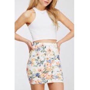 ❗️ 5 for $25 ❗️Forever 21 | Floral | Mini Skirt